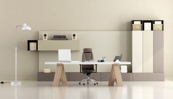 ufficio minimalista